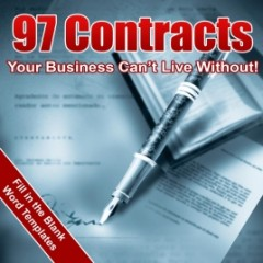 97 Contracts Your Business Can't Live Without